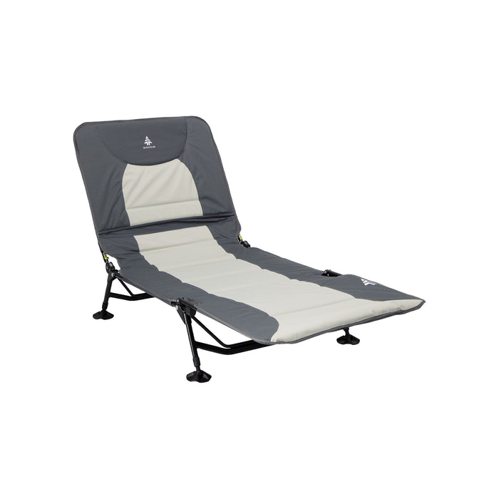 Woods Portable Quick Set-up Folding Adjustable 2-in-1 Camping Lounger/Cot