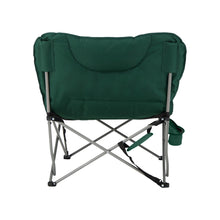 Load image into Gallery viewer, Woods Mammoth Folding Padded Camping Chair - Green