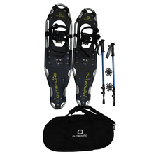 Load image into Gallery viewer, outbound snowshoes bundle 36-inch-260-lb-capacity-with-adjustable-poles-and-carry bag