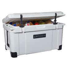 Load image into Gallery viewer, Woods Arctic White Cooler 58 Quart Roto-Molded