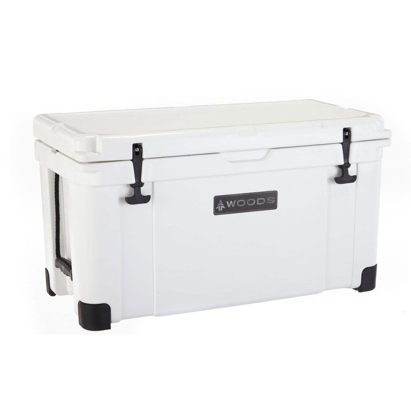Woods Arctic White Super King Cooler 75 Quart Roto-Molded