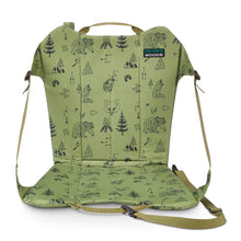 Load image into Gallery viewer, Woods Backpacker Folding Camping Chair - Green