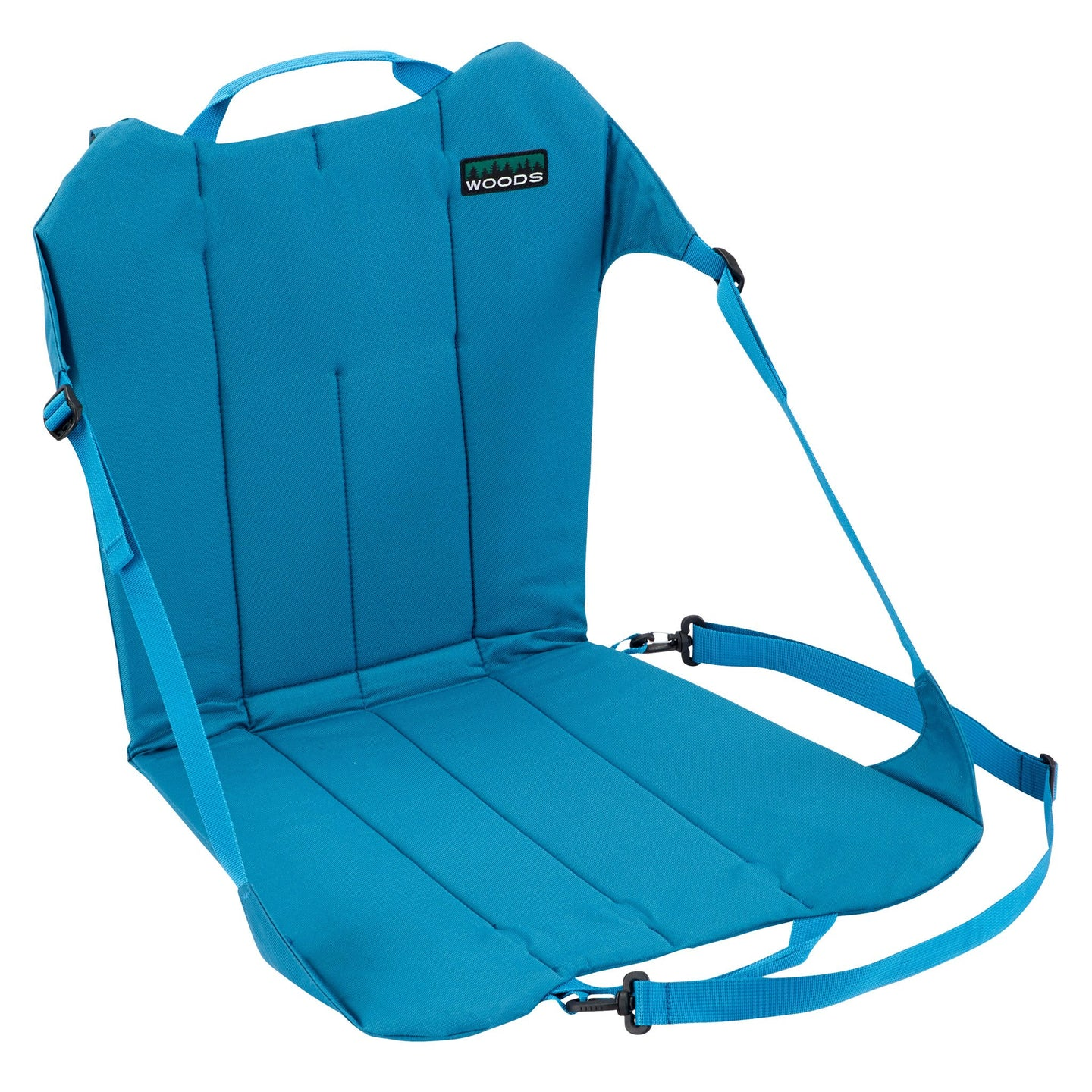 Woods Backpacker Folding Camping Chair - Teal