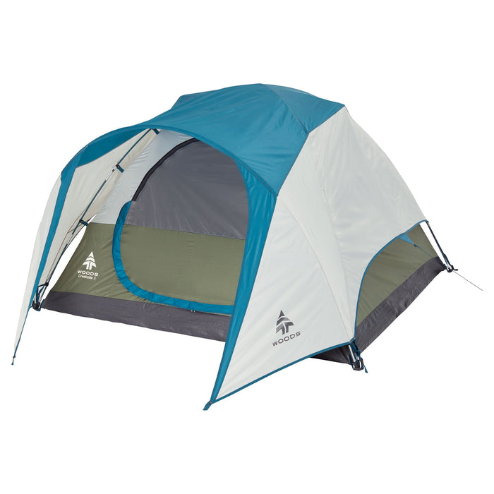 Woods Creekside Lightweight 3-Person 3 Season Tent