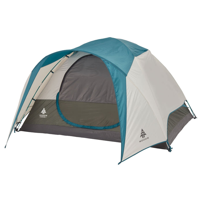 Woods Creekside Lightweight 4-Person 3 Season Tent