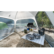 Load image into Gallery viewer, Woods Easy Setup Canopy Tent / Screen House For Camping / Picnic Shelter / 12' x 12'