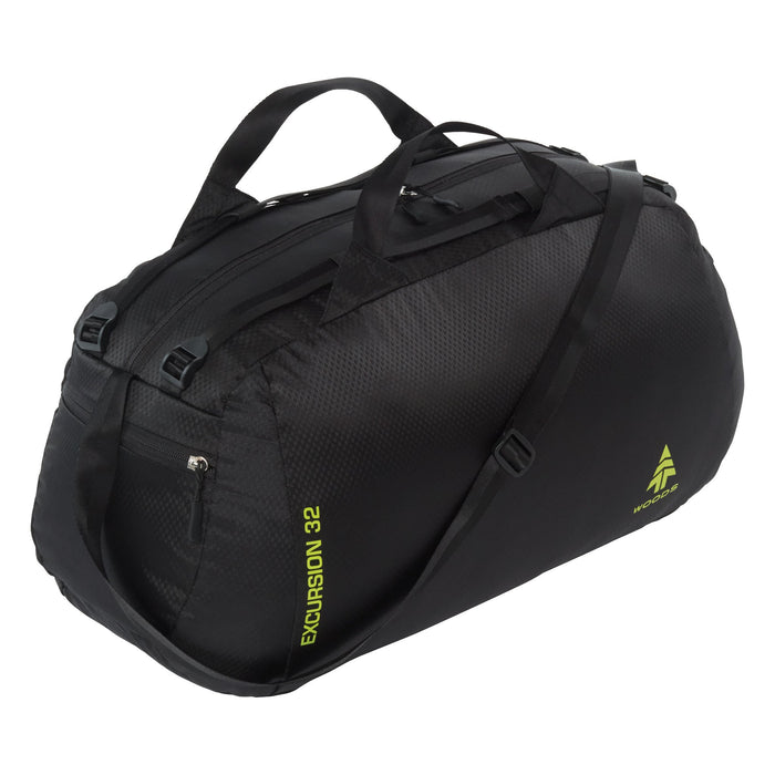 Woods Excursion 32L Duffel Bag - Black