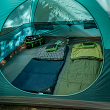 Load image into Gallery viewer, Woods Fernie Camping Sleeping Bag: 32 Degree - Green