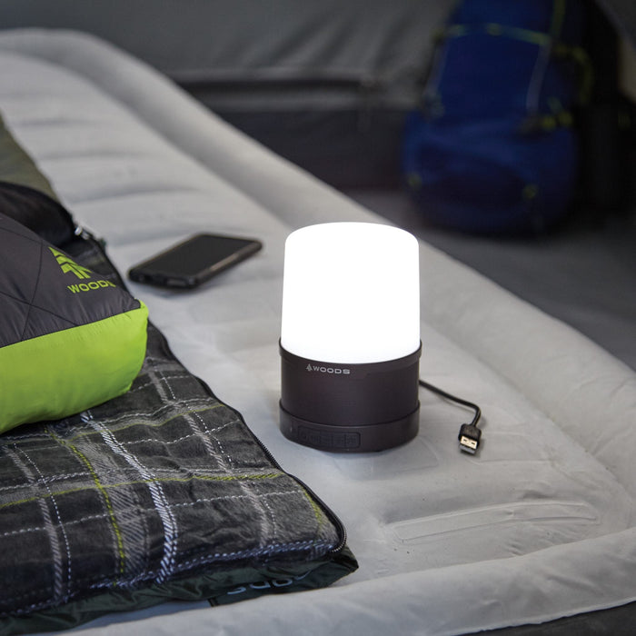 Woods LED Lantern With Bluetooth Speaker