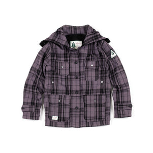 Woods Mackinaw Wool Jacket - Purple