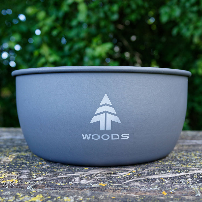 Woods Nootka Anodized 5-pc Camping Cook Set