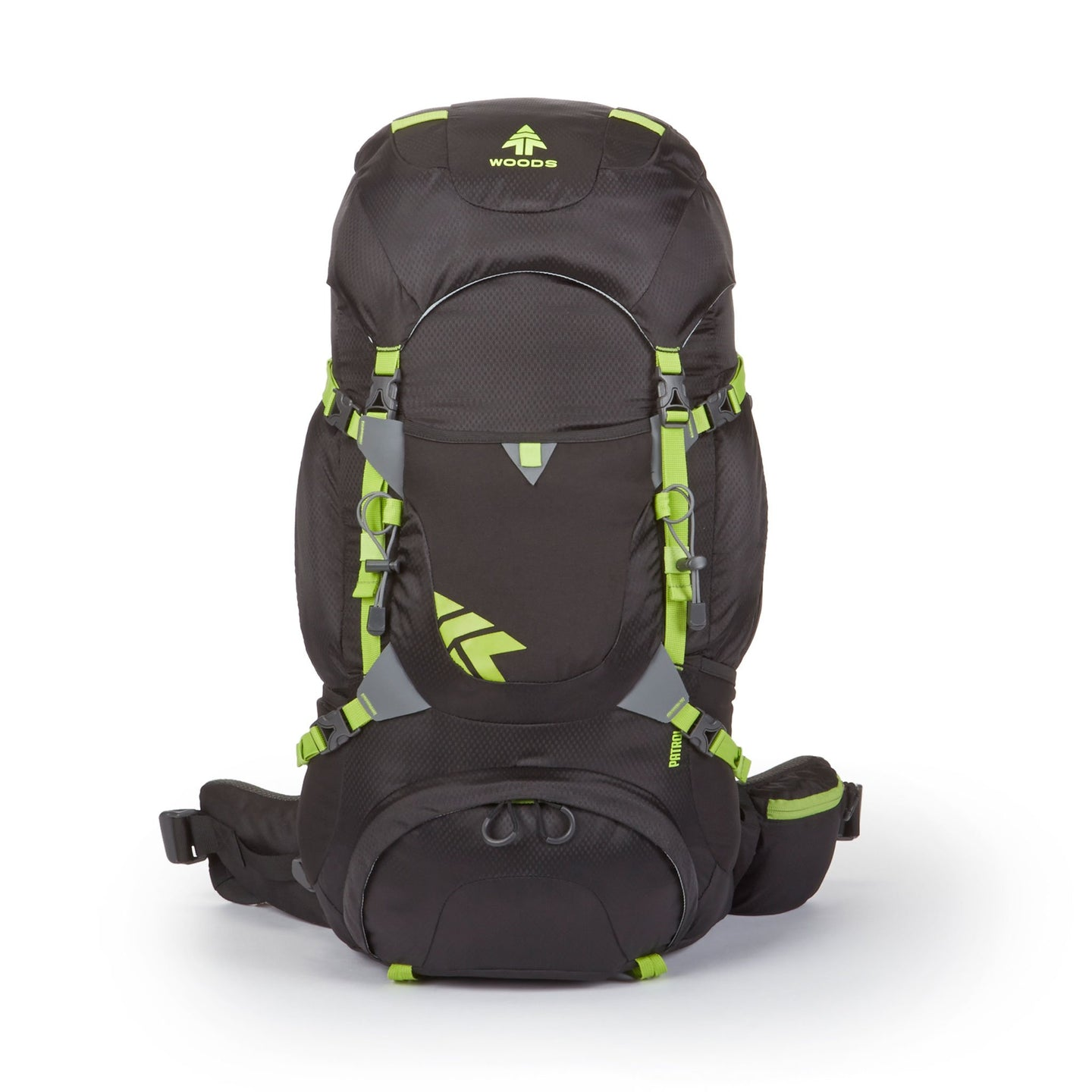 Woods Patrol 40L Backpack - Black
