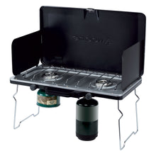 Load image into Gallery viewer, Woods Portable Multi-Fuel Camping Stove With 2 Burners