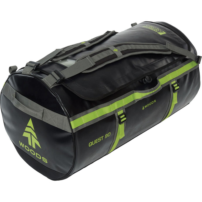 Woods Quest Duffel Bag 90L - Black