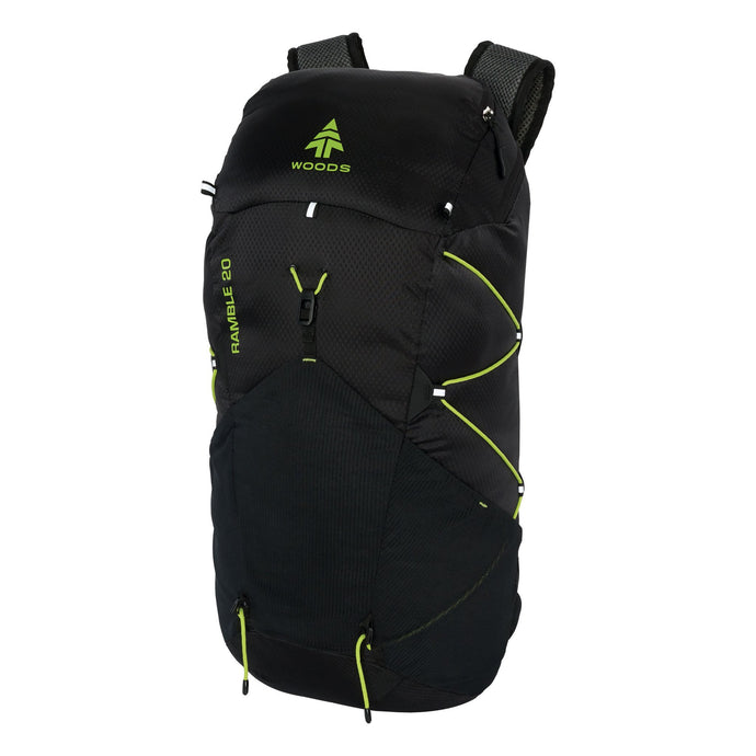 Woods Ramble 20L Backpack - Black