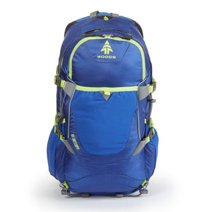 Woods Ridgeline 28L Backpack - Blue