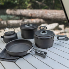 Load image into Gallery viewer, Woods Selkirk Anodized 4-pc Camping Cook Set