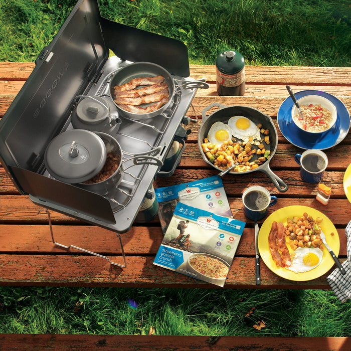 Woods Selkirk Anodized 4-pc Camping Cook Set