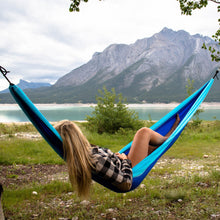 Load image into Gallery viewer, Woods Single Backpacker Camping Hammock with Tree Straps