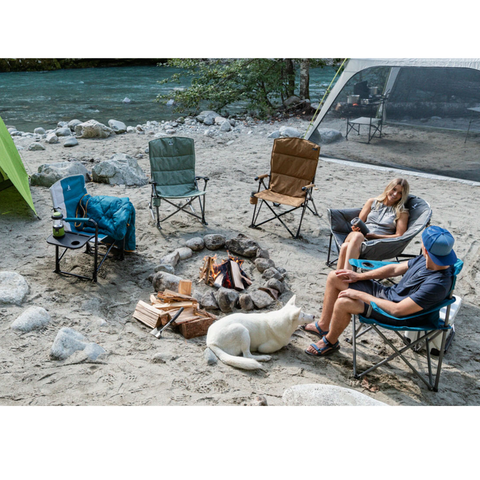 Woods Strathcona Folding Camping Chair -  Gray