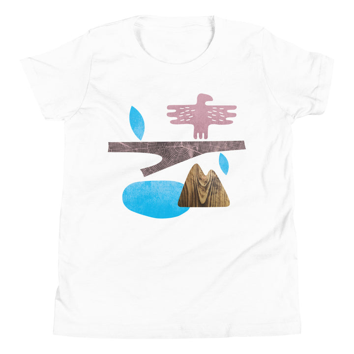 T-Shirt - Mountain, junior 6-13