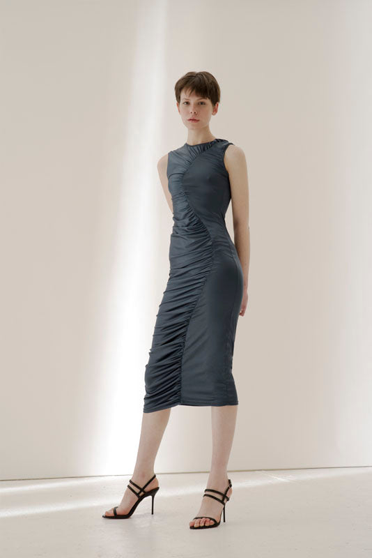 Coronilla stretch midi dress