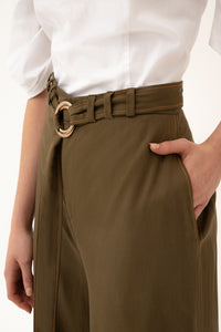 Pinamar trousers - Olive green