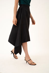 Lena silk skirt