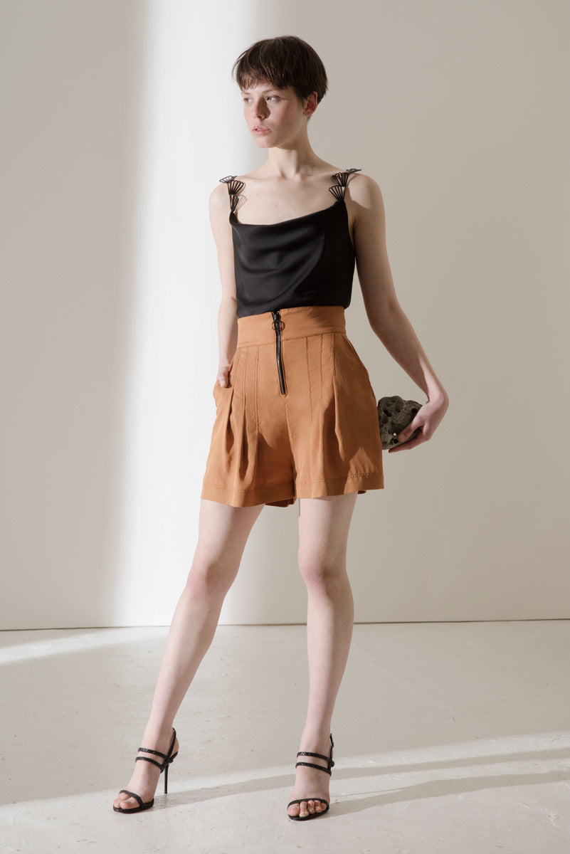 Fortin tencel shorts