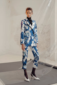 Ivar tailored trousers in print