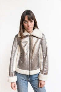 Thor shearling jacket