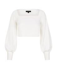Load image into Gallery viewer, Nogal blouse with statement sleeves