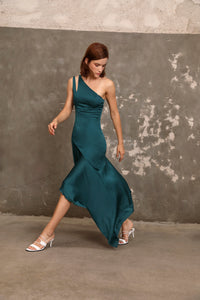 Thoia one shoulder dress