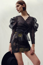 Load image into Gallery viewer, Margay mini skirt in hide leather