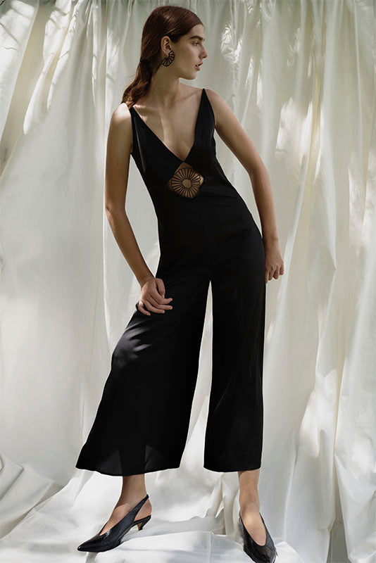 Espinillo embellished jumpsuit
