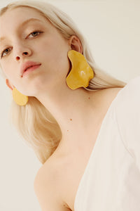 Nubia mismatched ceramic earrings