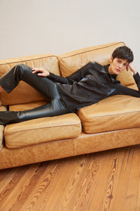 Ragnar leather trousers