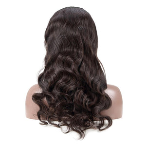 Hairocracy Body Wave Front Lace Wig- Virgin Remy Human Hair- 150% Density-human hair wigs-beautyforever.com-unice-bellami hair-Hairocracy