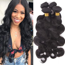 Load image into Gallery viewer, Hairocracy Medium Human Bodywave Hair Extension Weave - Virgin Remy-Hair Extensions-Hairocracy