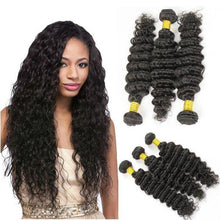 Load image into Gallery viewer, Hairocracy Medium Loose Deep Wave Human Hair Extension Weave - Virgin Remy