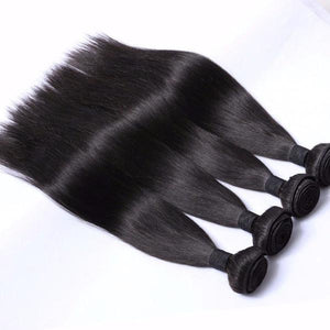 Hairocracy Mink Superior Straight Human Hair Extension Weave - Virgin Remy-Hair Extensions-Hairocracy