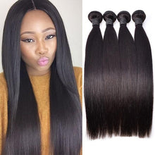 Load image into Gallery viewer, Hairocracy Mink Superior Straight Human Hair Extension Weave - Virgin Remy-Hair Extensions-Hairocracy