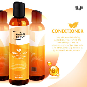 Hairocracy Paraben Free Peppermint & Tea Tree Conditioner- 8oz-Hair Care & Styling-eden bodyworks-paul mitchell-Natural Hair-Hairocracy