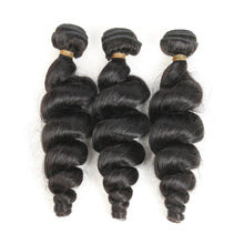 Load image into Gallery viewer, Hairocracy Premium Loose Wave Human Hair Extension Weave - Virgin Remy
