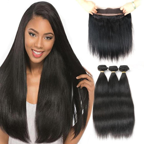 Straight Brazilian virgin bundles