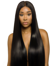 Load image into Gallery viewer, Hairocracy Straight Mink Superior Front Lace Wig- Virgin Remy Human Hair- 180% Density-human hair wigs-beautyforever.com-unice-bellami hair-Hairocracy