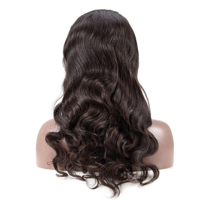 Hairocracy Mink Superior Body Wave Front Lace Wig- Virgin Remy Human Hair- 180% Density-human hair wigs-Hairocracy