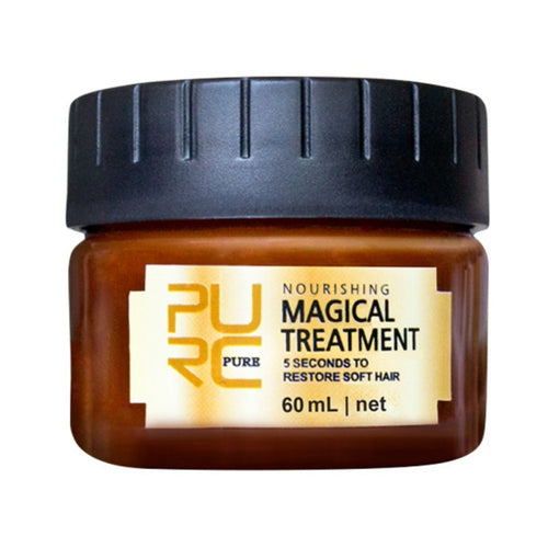 Treatment Mask Keratin 5 seconds Repairs Damage Hair and Restores Soft Hair 60ml for all Hair Types