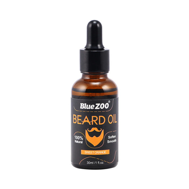 Beard Oil Kit Leave-In Conditioner for Groomed Beard Growth