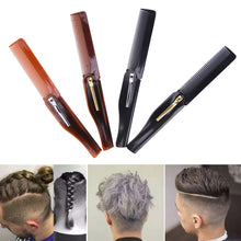 Load image into Gallery viewer, Foldable Hair and Mustache Comb Pocket Clip Styling Tool-beard care-Hairocracy